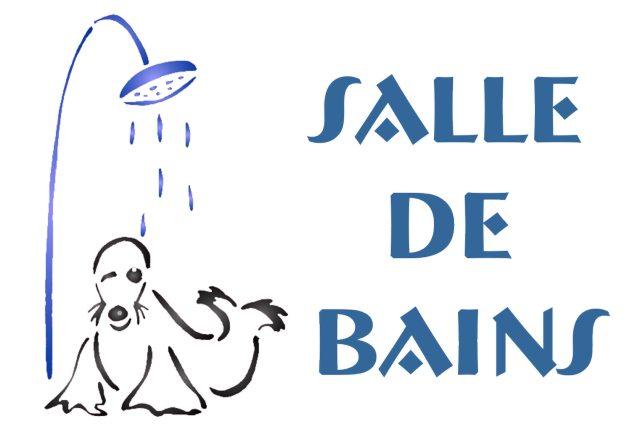 série salle de bain - Pochoir Salle De Bain